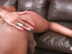 Naughty T-Ebony Jesikah Rabbit Does Hot Solo 3