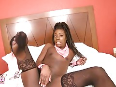 Detroit`s own Chazity Cheeks is a verse bottom with a unique voice. She has a nice thick all natural ass that she likes to put to use. Whether it`s your face or cock she aims to please. I look forward to seeing more of her.